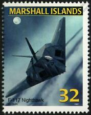 USAF LOCKHEED F-117 NIGHTHAWK STEALTH Jet Aircraft Airplane Mint Stamp (1997)