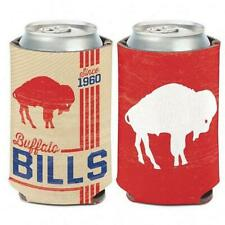 BUFFALO BILLS CLASSIC VINTAGE LOGO 12 OZ. CAN COOLER