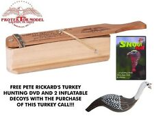 Smith Game Calls - New Handmade St-17 Turkey Box Call W/ Free Dvd Made In U.S.A.