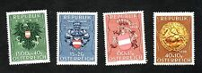 Austria 1949   Prisoners of War Relief set mint