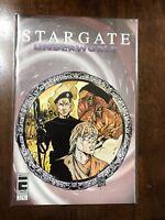 Stargate Underworld 1-A Comic Book Entity Comics May 1997 FREE bag/board
