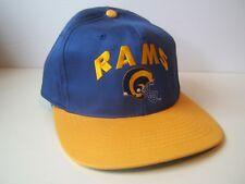 Los Angeles Rams NFL Football Hat Vintage Blue Yellow Snapback Baseball Cap