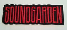 "Soundgarden Embroidered Applique Patch~4 3/4"" x 1 1/8""~Iron~Sew~Ships Free"