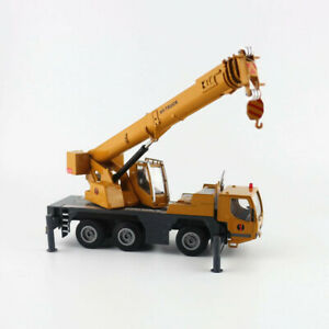 1/50 HY-Truck Alloy Engineering Car Heavy Lifting Crane Transportant Vehicle Toy