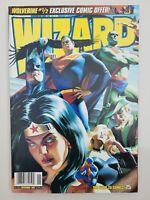 WIZARD COMICS MAGAZINE #75 NOVEMBER 1997 ORIGINAL ALEX ROSS JLA COVER ART