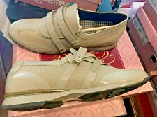 Aetrex Anna Leather Taupe Walking Comfort Shoe Size 8.5M BRAND NEW IN BOX MOZAIC