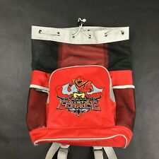 Disney Store Power Rangers Mystic Force Small Red Book Bag Backpack Drawstring
