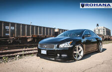 20x11 +28 Rohana RC22 5x114 Silver Wheel Fit Nissan Maxima 2012 5x4.5 Aggressive