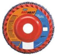 NORTON 63642504877 Flap Disc,4 1/2 In x 40 Grit,7/8