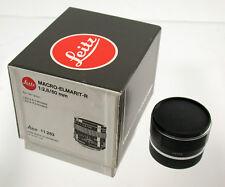 Leica Macro-Elmarit R 2,8/60 60 60mm f2, 8 2,8 + 14256 top Boxed ADAPT. m a7 EOS