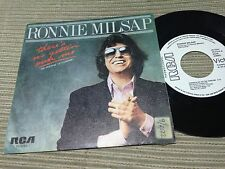 "RONNIE MILSAP SPANISH 7"" SINGLE SPAIN WHITE LABEL RCA 81 THERE¡S NO GETTIN' OVER"