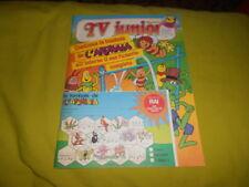 TV JUNIOR  ANNO 2  NUMERO   13   1980 MAZINGA Z   APEMAIA   INSERTO  E TOMBOLA