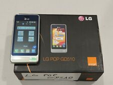 LG POP GD510 - New Old Stock (Unlocked) Smartphone