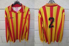 VINTAGE Maillot FC MARTIGUES porté n°2 ADIDAS match worn shirt football maglia