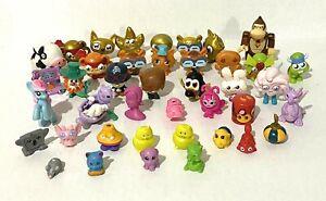 Junk Drawer Lot Mini Toy Figures 42 Pieces MLP Donkey Kong Dragon Leprechaun Fox