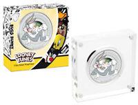 2018-P Tuvalu Looney Tunes Bugs Bunny 1/2 oz Silver Colorized Proof SKU52486