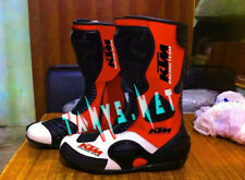 KTM BRAND NEW MOTORBIKE MOTORCYCLE RACING MOTOGP LEATHER BOOTS