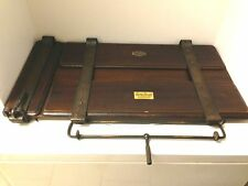 RARE Antique Wooden clothing press, Great Display