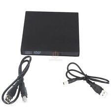 New USB 2.0 External DVD Combo CD-RW Burner Drive CD±RW DVD ROM Durable Black CA