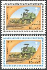 Saudi Arabia 1987 FAO/FFH/Tractor/Food/Hunger/Farming/Transport 2v set (n28904)