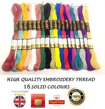 Anchor perle Coton écheveaux fil 18 base plupart exigeant rapide couleurs vives