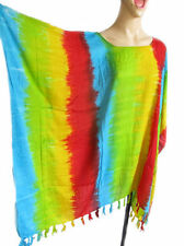 Rayon Summer/Beach Hand-wash Only Striped Clothing for Women
