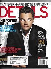 October 2006 Details Magazine-Leonardo DiCaprio cover!