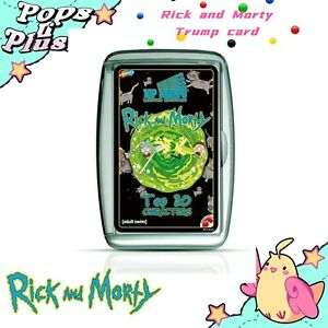 Rick and Morty Top Trumps Card Game from Winning Moves Kids Family Party