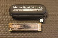 Harmonica diatonique Hohner Marine Band De Luxe toutes tonalités majeures