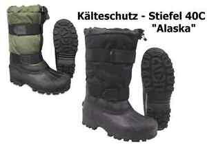 FOX Winter Thermo Schnee Kälteschutz Stiefel Boots ALASKA Gummisohle -40°C