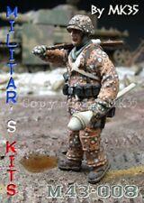 1/43 Figurine MK35 M43-008 militaire allemand à monter et à peindre