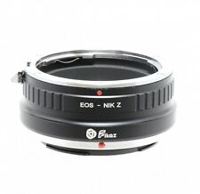 Fikaz Canon EOS to Nikon Z Lens Mount Adapter