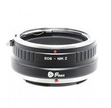 Fikaz Canon EOS A Nikon Z Lente Montaje Adaptador