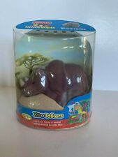 Fisher Price Little People Zoo Talkers Rhino Rhinoceros