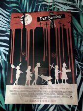 Pet Sematary Poster Stephen King