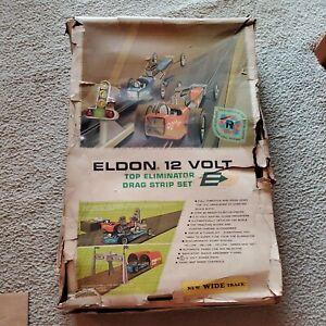 1960's Vintage Eldon 12 Volt Top Eliminator Drag Strip Set
