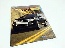 2009 Ford Escape & Hybrid Brochure