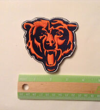 """Chicago Bears, embroidered, 3.5"""" by 3.5"""" iron on patch, NFL, football NEW"""