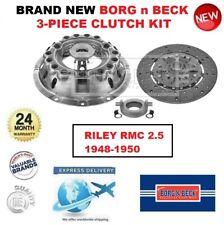 Nuovo Borg e Beck 3-PIECE Kit Frizione per Riley RMC 2.5 1948-1950