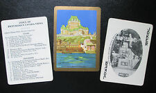 c.1925 Souvenir Wide Playing Cards Picturesque Canada 53 Views CHATEAU FRONTENAC