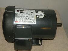 Lincoln Motor 3/4HP 1140RPM 230/460V BVM LM24140A P