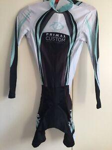 PRIMAL CYCLING SPEEDSUIT SKINSUIT BIKING JERSEY TRIATHLON LS Womens Sz XL NEW