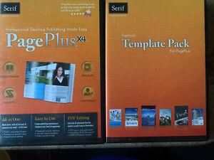 Serif Page Plus X4 & Premium Template Pack Software Desktop Publishing