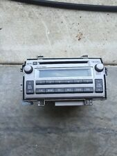 2011-2013 Toyota Matrix Radio Audio Control CD/Disc Player 86120-02C40 Oem