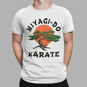 Karate Kid T-Shirt MIYAGI - DO Movie Daniel Cobra Kai TV 80  Retro Gift TEE UK