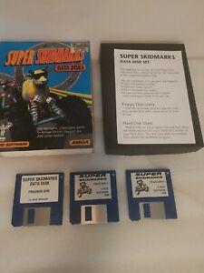 Super Skidmatks Data Disks Amiga Read Descriptiom