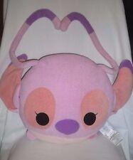 """Disney Store 16"""" Plush Lilo & Stitch Angel Pillow Pink Stuffed Animal Lg Toy Big"""