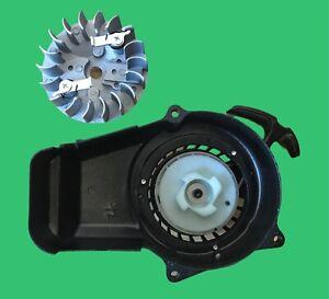 Kit per conversione avviamento a strappo facilitato easy pull minimoto quad 49cc