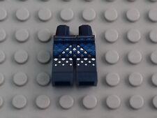 1 x DARK BLUE MINIFIGURE HIPS & LEGS WITH BLUE & WHITE PATTERN -