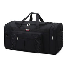 Duffle Bag Sports Large Tote Handbag Travel Flight Gym Fitness Luggage Black